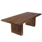 Edge dining Table Walnut four chairs