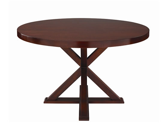 Union Round dining table in maple